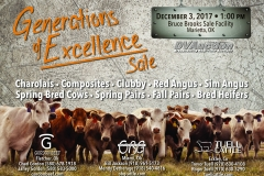 Generations of Excellence Sale Flyer 5x7