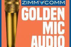 Golden Mic Podcast Logo 1